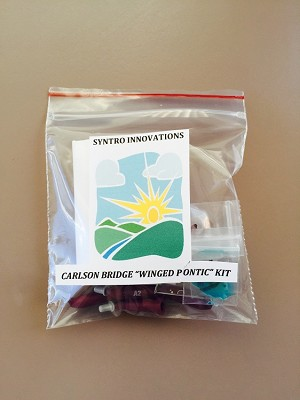 Personalized Carlson Bridge Winged Pontic Kit